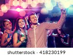 party  holidays  technology ... | Shutterstock . vector #418230199