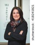 smiley professional... | Shutterstock . vector #418241821