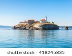 saint anastasia island in... | Shutterstock . vector #418245835