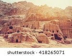 Cave Dwellings In The Rose Cit...