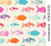 abstract seamless pattern  ... | Shutterstock .eps vector #418311031