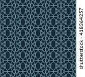 geometric pattern  seamless.    Shutterstock .eps vector #418364257