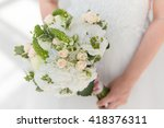 bridal bouquet | Shutterstock . vector #418376311