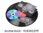 Vinyl Disc  Audio And Video...