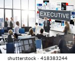 business marketing documents... | Shutterstock . vector #418383244