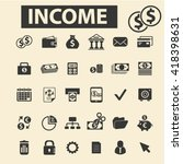 income icons  | Shutterstock .eps vector #418398631