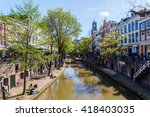 utrecht  netherlands   april 20 ... | Shutterstock . vector #418403035