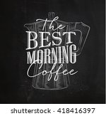 poster lettering the best... | Shutterstock .eps vector #418416397