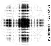 pop  art round elements.... | Shutterstock .eps vector #418433491