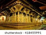 kandy  sri lanka   march 25 ... | Shutterstock . vector #418455991