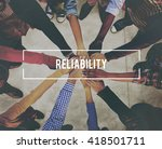 accuracy  commitment ... | Shutterstock . vector #418501711