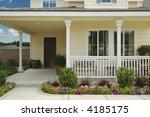Beautiful House Patio On A Lak...