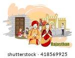 easy to edit vector... | Shutterstock .eps vector #418569925