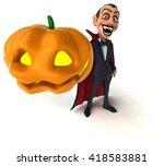 vampire | Shutterstock . vector #418583881