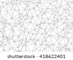 triangle stroke background | Shutterstock .eps vector #418622401