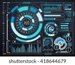 sci fi futuristic virtual...