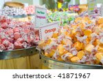 Salt Water Taffy Candy Sitting...