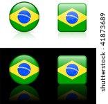 world flag series  brazil | Shutterstock .eps vector #41873689