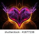 valentine heart   Shutterstock . vector #41877238