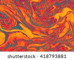 beautiful abstract background.... | Shutterstock . vector #418793881