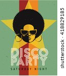 Disco Party Event Flyer....