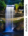 early morning waterfall at... | Shutterstock . vector #41883976