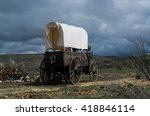 Western Covered Chuckwagon For...