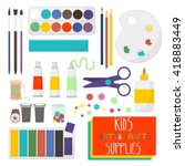 kids artistic materials set....