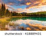 Boya Lake Reflections