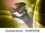 digital illustration of... | Shutterstock . vector #41895058