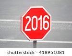 2016 concept | Shutterstock . vector #418951081