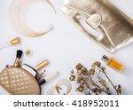 still life of fashion woman.... | Shutterstock . vector #418952011