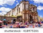 antigua  guatemala   october 4  ...   Shutterstock . vector #418975201