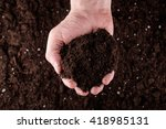 Bunch Of Good Soil In Hands On...