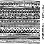doodle pattern | Shutterstock . vector #418988569