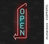 Realistic Glowing Neon Signs....