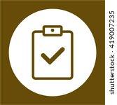 clipboard checklist survey form ...