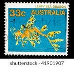 australia   circa 2002  a stamp ... | Shutterstock . vector #41901907