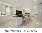 kitchen in luxury home with... | Shutterstock . vector #41904046