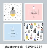 set of creative trendy art... | Shutterstock .eps vector #419041339