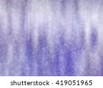 abstract violet football or... | Shutterstock . vector #419051965