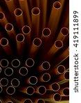 lots of straws | Shutterstock . vector #419111899