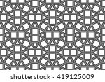 vector hipster abstract... | Shutterstock .eps vector #419125009