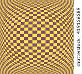 square table sphere or fisheye... | Shutterstock .eps vector #419126389