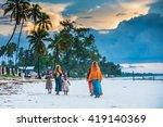 editorial use. even facing poor ... | Shutterstock . vector #419140369