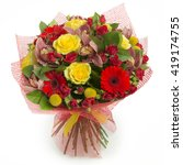 Colorful Bouquet Of Various...