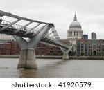 Under The Millennium Bridge...