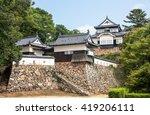 bitchu matsuyama castle in... | Shutterstock . vector #419206111
