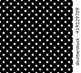 Abstract Polka Dot Pattern Wit...