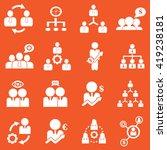 management   business training... | Shutterstock .eps vector #419238181